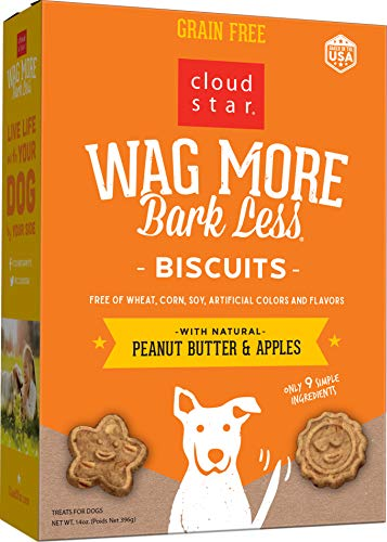 14-Oz Cloud Star Wag More Bark Less Oven Baked Dog Treats (3 Flavors) $1.75 w/ S&S + Free Shipping w/ Prime or Orders $25+