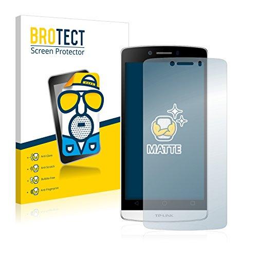 BROTECT 2X Entspiegelungs-Schutzfolie kompatibel mit TP-Link Neffos C5L Bildschirmschutz-Folie Matt, Anti-Reflex, Anti-Fingerprint