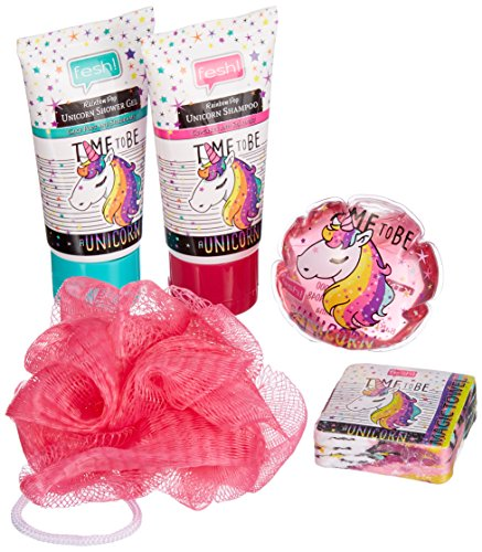 fesh! Splash and Fun - Unicorn Bath Set 4er Pack(4 x 5 Stück)