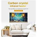 HL Elektroheizung Heizung Panel gut montiert Carbon Kristall Infrarot Heizung Badezimmer Home Office Heizkörper