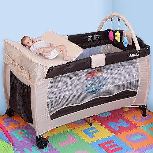 Bakaji Lettino Culla Box Gioco da Campeggio per Bambini...