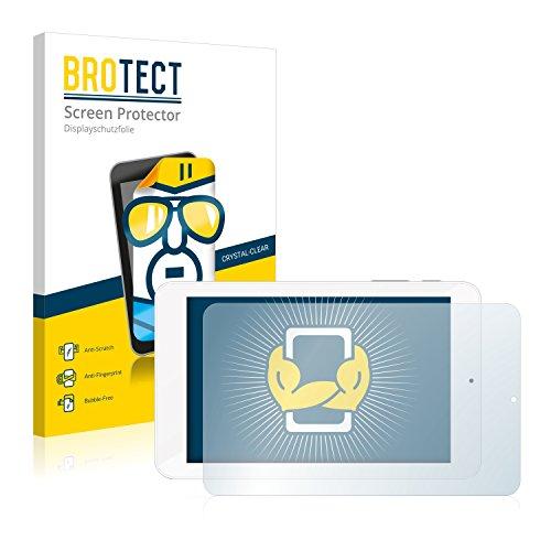 BROTECT Schutzfolie kompatibel mit TrekStor SurfTab xiron 7.0 HD (2 Stück) klare Bildschirmschutz-Folie