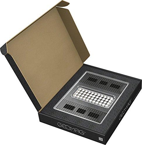 GEOMAG Masterbox Large 182 - Magnetstäbe Spielzeug - Schwarz - 248-teilige Box