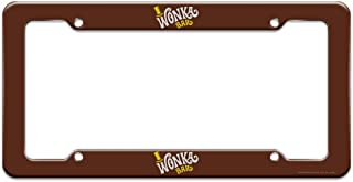 Willy Wonka and The Chocolate Factory Wonka Bar Logo License Plate Tag Frame