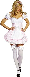 Sexy Candy Striper Occupational Costume Hospital Nurse Red White Dress