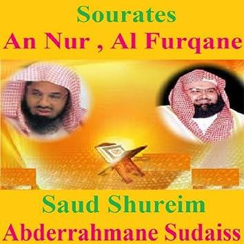 Sourates An Nur, Al Furqane (Quran - Coran - Islam)