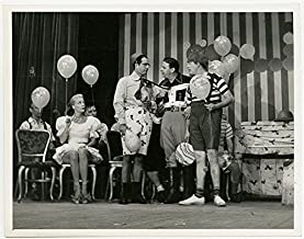 Vintage 1949 Photograph Early American Television Texaco Star Theatre Family Comedy Milton Berle June Havoc Howdy Doody Bu...