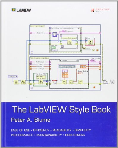 Blume, P: LabVIEW Style Book (National Instruments Virtual Instrumentation)