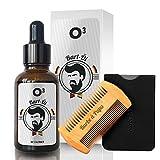 O³ Soin de barbe pour homme - 100 % végétal - Dompte et...