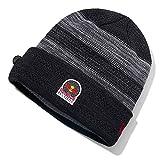Photo de Red Bull Records New Era Vinyl Knit Beanie, Noir Unisexe Taille Unique Bonnet, Records Vêtements & Merchandise Originale
