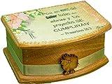 Gospel Gift Caja Decorada con Promesa Bíblica Pintada a Mano, Regalos Cristianos, promesas...