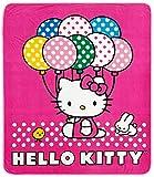 Hello Kitty Blanket - Hello Kitty Sanrio Throw (50 x 60 in) Baloon