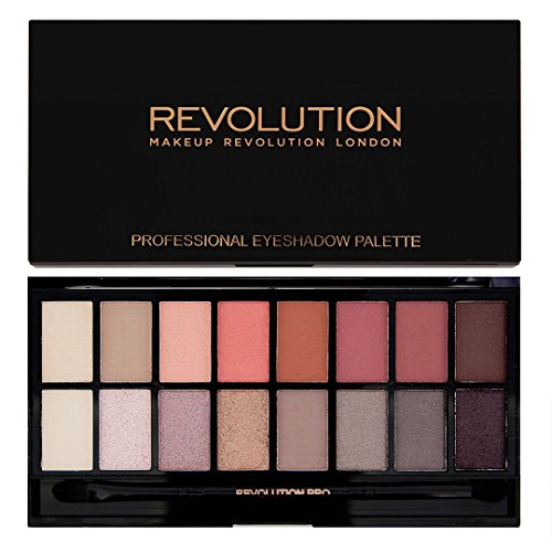 Makeup Revolution Salvation Eyeshadow Palette New-Trals vs Neutrals Paleta 16 cieni do powiek 16g