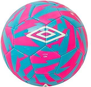 UMBRO Futsal Copa Balón Fútbol, Rosa (Pink GLO) / Azul (