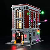 BRIKSMAX Led Lighting Kit for Ghostbusters Firehouse Headquarters - Compatible with Lego 75827 Building Blocks Model- Not Include The Lego Set