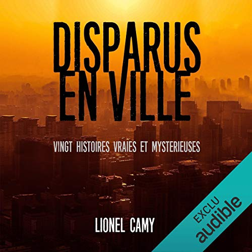 Disparus en ville audiobook cover art
