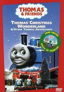 Thomas the Tank Engine and Friends - Thomas` Christmas Wonderland (With Bonus CD Sampler)