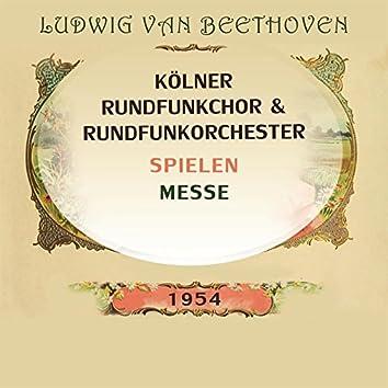 Kölner Rundfunkchor / Kölner Rundfunkorchester spielen: Ludwig van Beethoven: Messe (Live)
