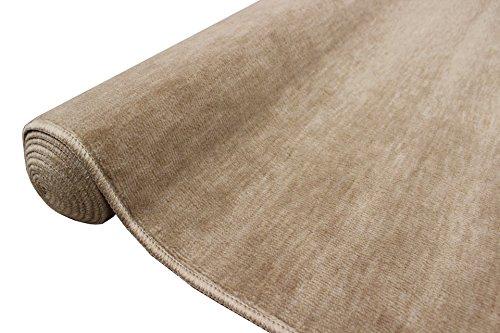 カーペット 6畳 絨毯 ラグ 日本製 抗菌 無地 じゅうたん 江戸間 261x352cm/ストーリー6帖ベージュ