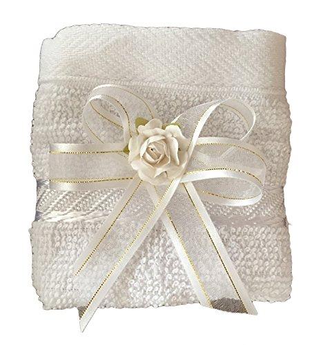 Product Image 5: Baptism Christening Kit, Catholic Handmade kit with Towel, Rosary, Baptism Candle and Baptism Shell. Christening Favor