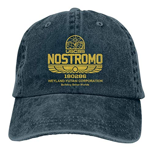 Zhgrong Caps Nostromo Denim Dad Cap Baseball Hat Adjustable Sun Cap Ball Cap