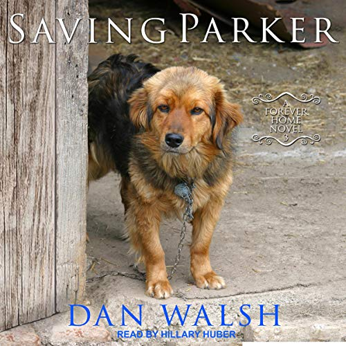 Saving Parker audiobook cover art