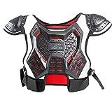 Chaleco profesional de armadura para niños con protección de motocross para monopatín y soporte de espalda para motocicleta