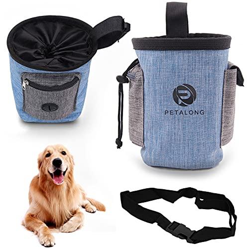 Xionghonglong Bolsas de Golosinas para Perros,Bolsa Premios Perro,Bolso Merienda Perro,Bolsa de Cintura Mascota Perro,Bolsa para Golosinas para Mascota,Bolsa de Comida para Perros (Lanxin)
