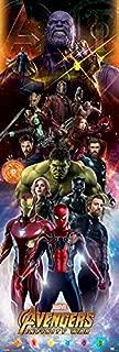 Avengers Infinity War Door Poster