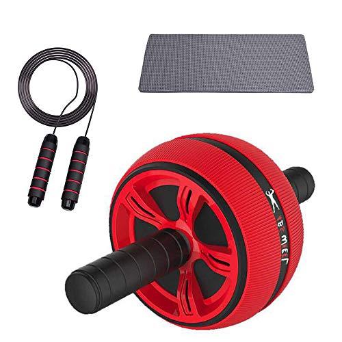 Rodillo de entrenamiento abdominal AB con cuerda para saltar, equipo de fitness 2 en 1, dispositivos de rodillo abdominal para entrenamiento, ayuda para el entrenamiento de fuerza muscular (estilo 2)