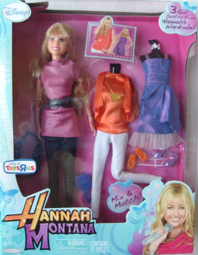 Hannah Montana Doll and Accessory Set