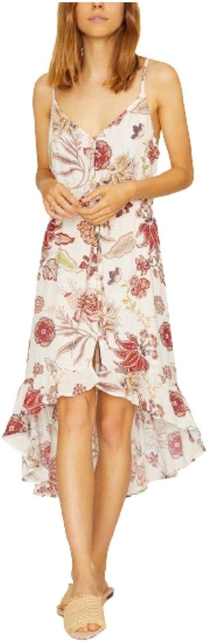Sanctuary Womens Sleeveless Tie Waist Casual Dress