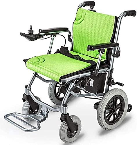 Sedia a rotelle elettrica portatile pieghevole o manuale accessibile a sedia a rotelle accessibile a quattro ruote motorino per anziani con persone con disabilità