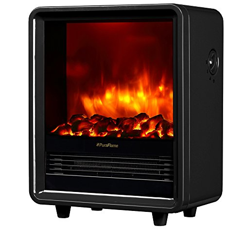 PuraFlame 12 Inches Octavia Portable Electric...