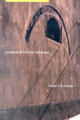 Josephus in Galilee and Rome: His Vita and Development As a Historian
