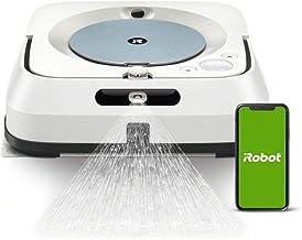 iRobot Braava m6 (m6134) Wischroboter mit WLAN, Präzisions-Sprühstrahl und erweiterter Navigation, Zeitplanreinigung, lern...
