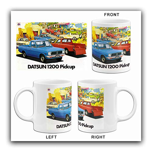 1980 Datsun 1200 Pickup - Promotional Advertising Mug