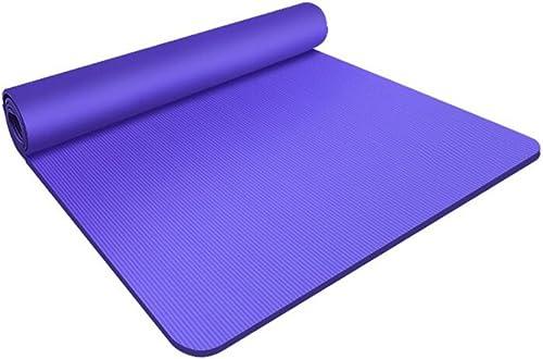 TG Le Tapis de Yoga Multi-usages a épaissi la Courroie antidérapante augmentée de Camping de Forme Physique 130CM  200CM  15mm