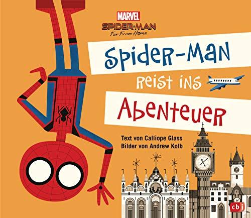 Marvel Spider-Man reist ins Abenteuer: Das Bilderbuch zum Film Spider-Man Far From Home - Bilderbuch ab 4 Jahren (Die Marvel-zum-Vorlesen-Reihe, Band 2)