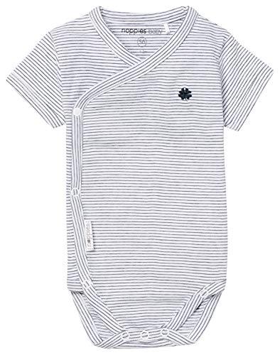 Noppies B Romper SS Ronda 67355 Body, Multicolore (Navy C166), 0-3 Monate (Taille Fabricant: 50) Bébé garçon