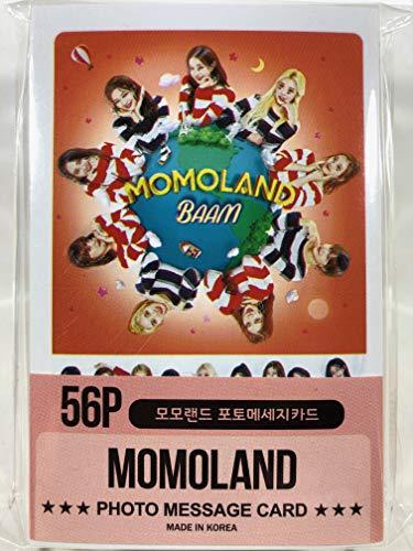 MOMOLAND モモランド グッズ / フォト メッセージカード 56枚 (ミニ ポストカード 56枚) セット - Photo Message Card 56pcs (Mini Post Card 56pcs) [TradePlace K-POP 韓国