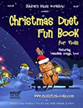 Christmas Duet Fun Book for Violin: Easy to play Christmas and Hanukkah duets for the young musician