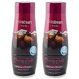 SodaStream Cherry Cola, 440ml 2 Pack, 14.8 Fl Oz