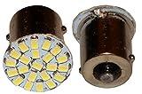 AERZETIX: 2 x Bombillas P21W R5W R10W 12V 22LED SMD blanco con efecto Xenon base 1156