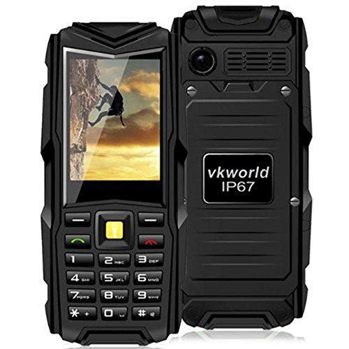 VKworld Stone V3 GSM Phone (Nero)