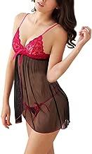 Trendy Wear Women's Satin Babydoll Lingerie(Pink, Free Size)