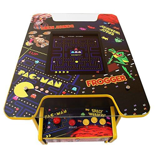 MonsterShop Retro Arcade Games Maschine Arcade Tisch Spielautomat Spielkonsole Videospielmaschine Video Spiele 73cm H x 64.5cm L x 89.5cm B