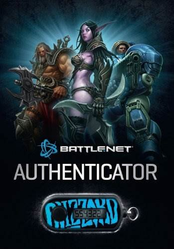 Blizzard Authenticator (Key chain code for internet access) [UK-Import]