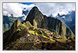 Pyramid America Gerahmtes Poster Machu Picchu Inca Site