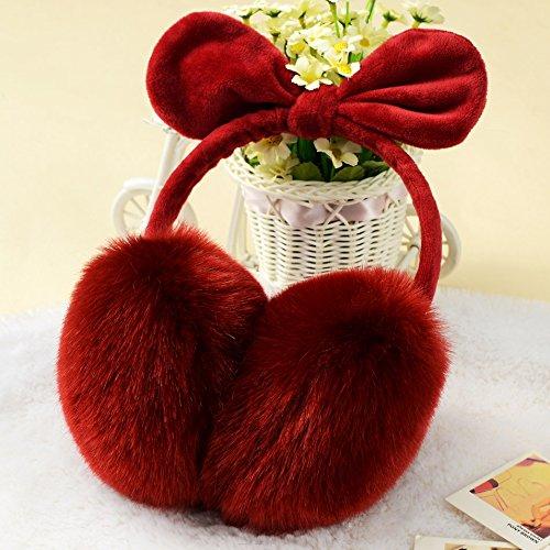 Kinderen winter kinderen Leuke boren hazenoren mode winter hoofdtelefoon gehoorbescherming Warm Valentijnsdag verjaardagscadeau festivals